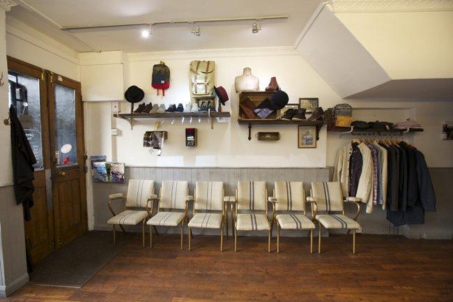 Interior of Milo's salon in Dunton Green