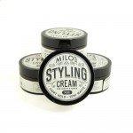 Milo's styling cream