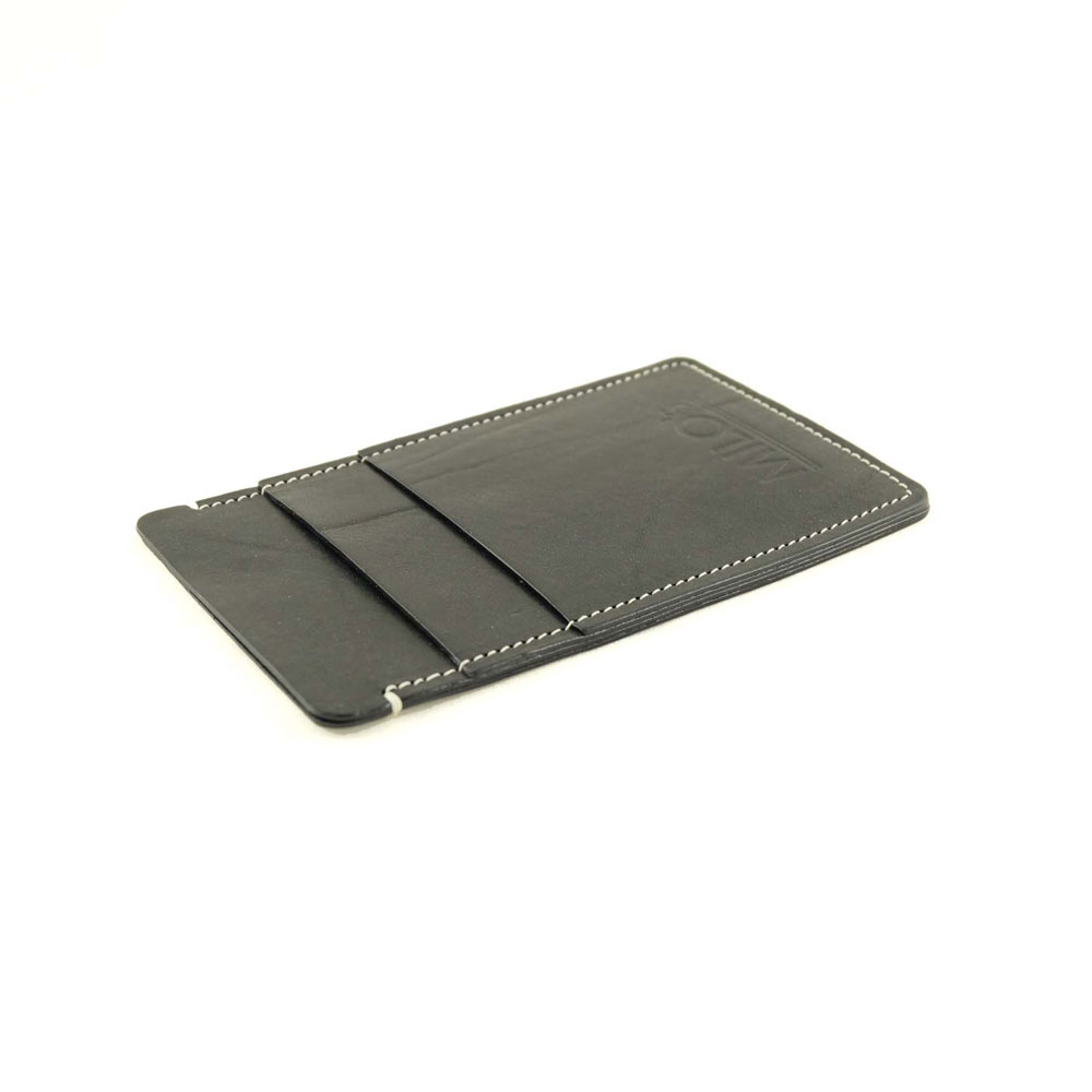 Milo's Iphone 6 cover / wallet in black - side
