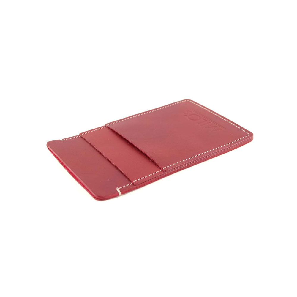 Milo's Iphone 6 cover / wallet in red - side