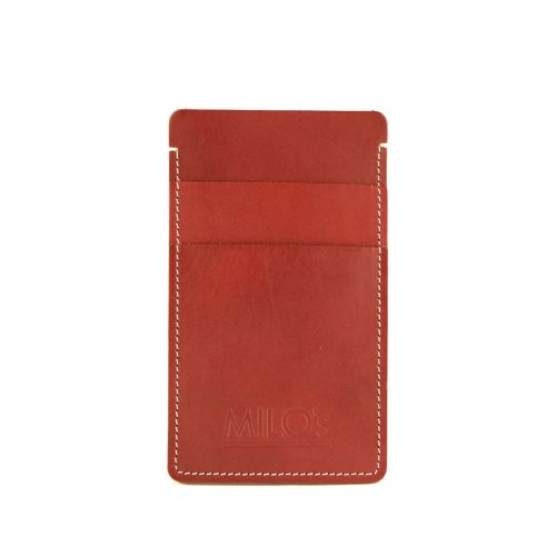 Milo's Iphone 6 cover / wallet in red - front