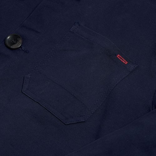 "Milo's 100% Canvas ""Laboureur"" Jacket - pocket detail"