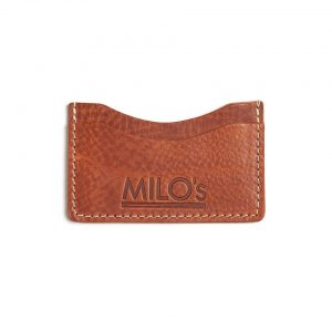 Milo's Tan Leather Card Wallet