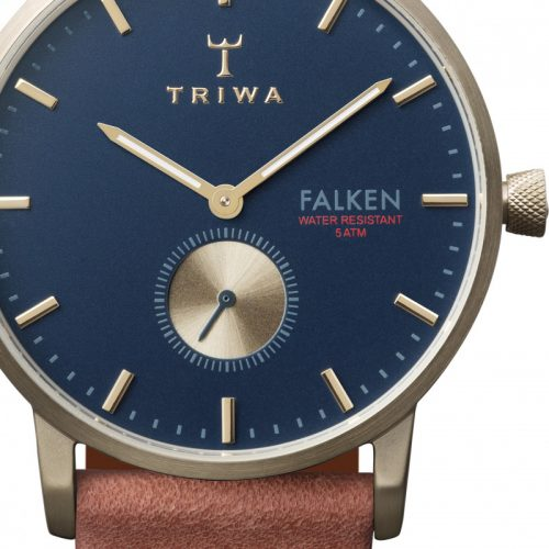 TRIWA Watches- Loch Falken- Brown Classic - detail