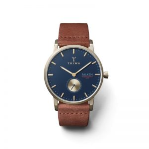 TRIWA Watches- Loch Falken- Brown Classic - front view