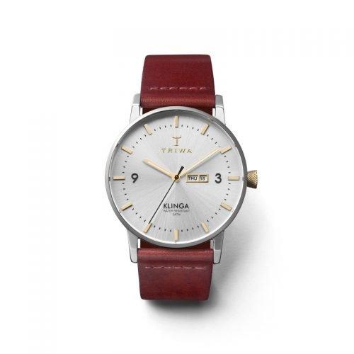 TRIWA Watches - Gleam Klinga - Cognac Classic front view