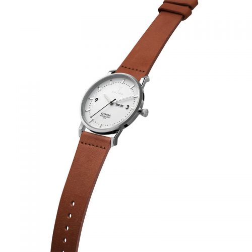 TRIWA Watches - Snow Klinga - Brown Classic - side view