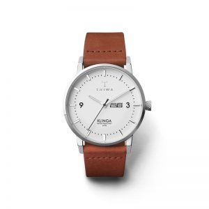 TRIWA Watches - Snow Klinga - Brown Classic - front view