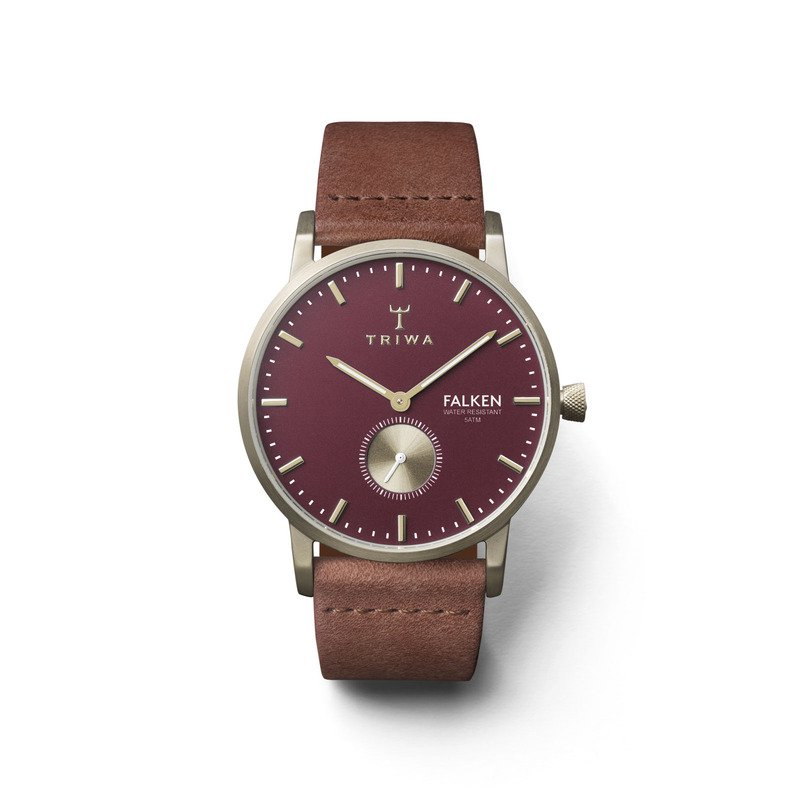 TRIWA Watches – Ruby Falken – Brown Classic
