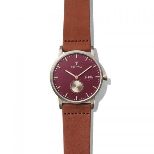 TRIWA Watches – Ruby Falken – Brown Classic - front view