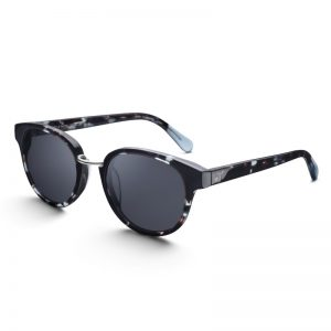 TRIWA Sunglasses - Indigo Turtle Nicki side view