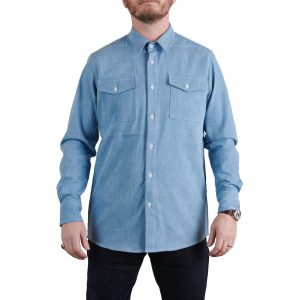 MIlo's Light Blue Denim Shirt on Milo