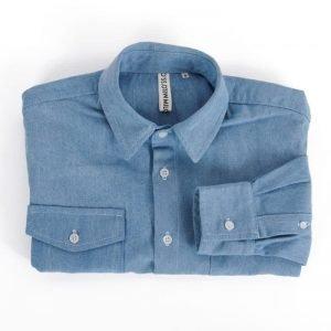 MIlo's Light Blue Denim Shirt folded