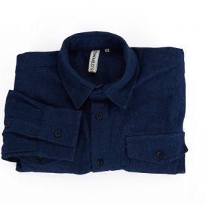 MIlo's Dark Blue Denim Shirt folded