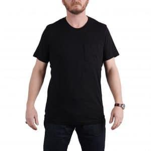 Milo's Classic Black Cotton T-shirt