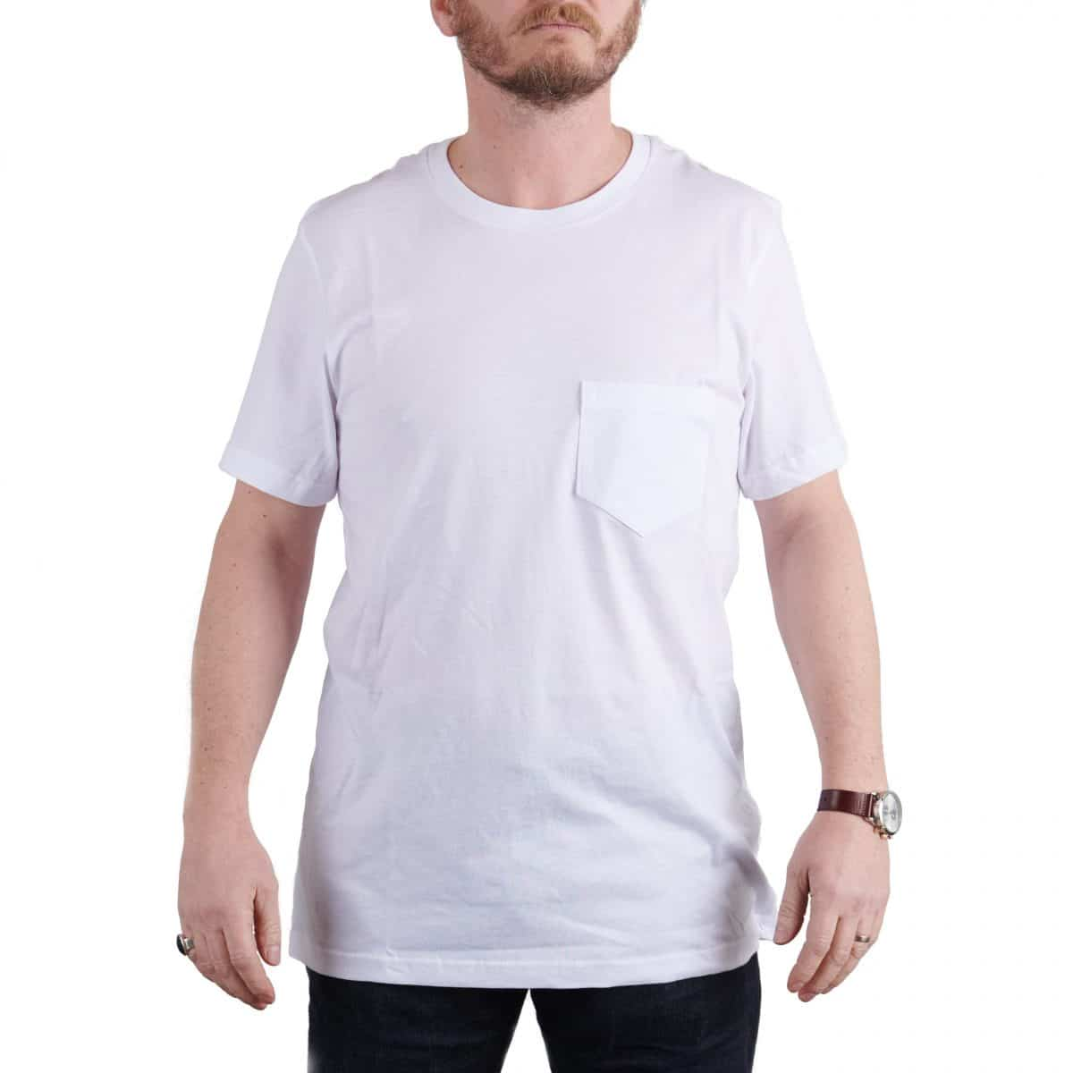MIlo's Classic White Cotton T-shirt