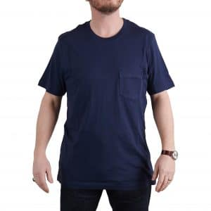 MIlo's Classic Dark Blue Cotton T-shirt
