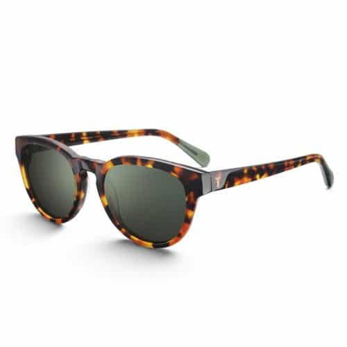 Triwa Havana Ernest Sunglasses side view