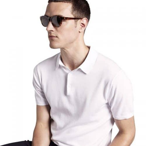 Triwa Havana Ernest Sunglasses on male model