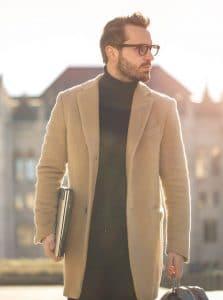suede trench coat autumn trends