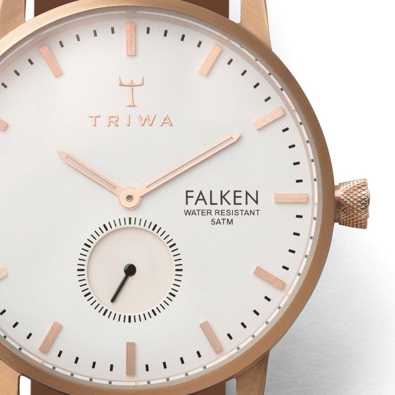 Triwa Watches - Rose Falken - Classic Tan - detail