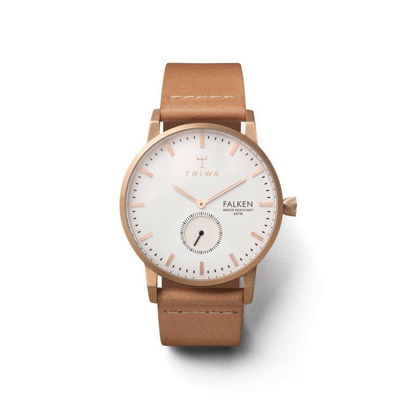 Triwa Watches - Rose Falken - Classic Tan - front view