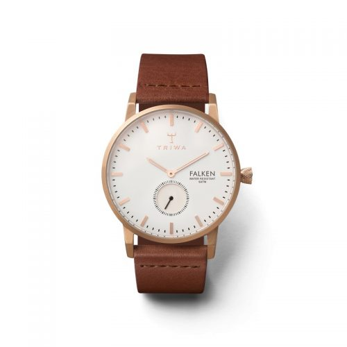 Triwa Watches - Rose Falken - Classic Brown - front view