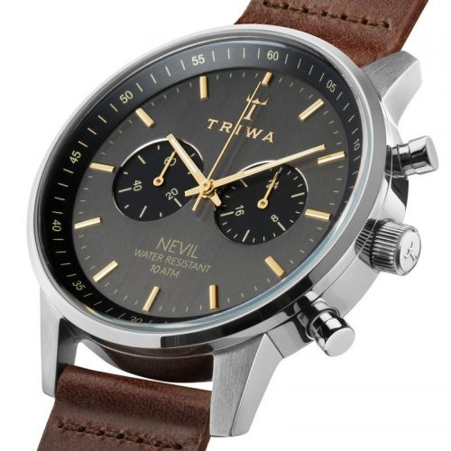 Triwa Watches - Smoky Nevil - Dark Brown Classic - detail