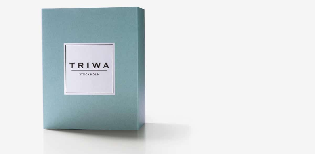 Triwa watch box