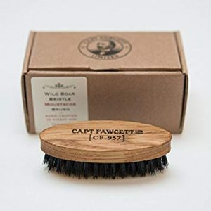 Capt Fawcett Wild Boar Bristle Moustache Brush (CF. 957)