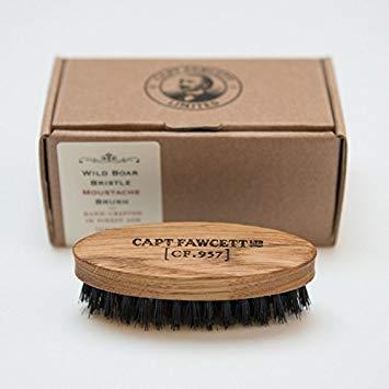 Capt Fawcett Wild Boar Bristle Moustache Brush (CF. 957)