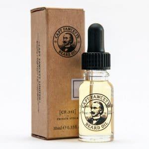 Capt Fawcett Private stock beard oil 10ml - with box