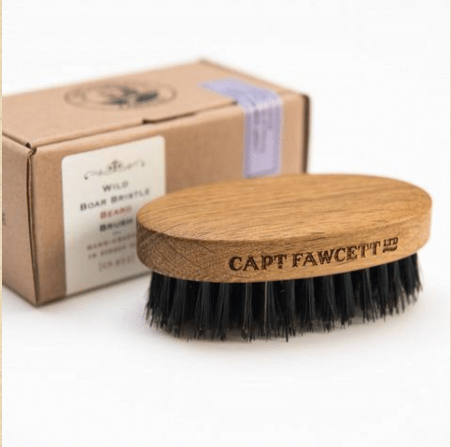 Capt Fawcett Wild Boar Bristle Beard Brush (CF.933) (with box)