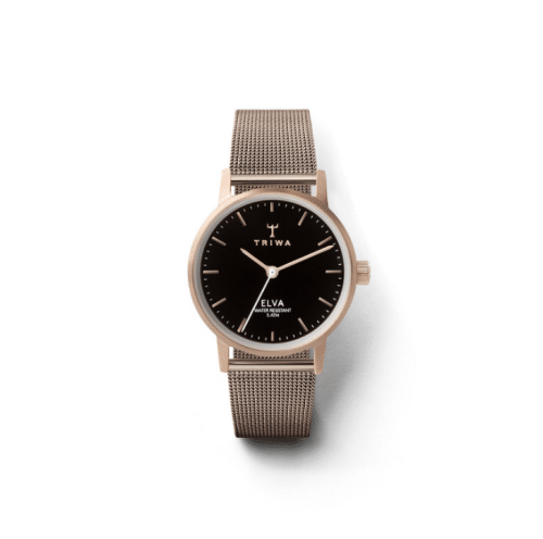 Triwa watches - Rose Elva - Petite Rose Mesh - front view