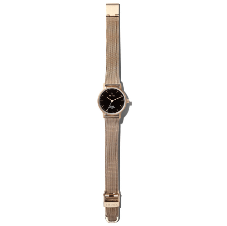 Triwa watches - Rose Elva - Petite Rose Mesh - full view
