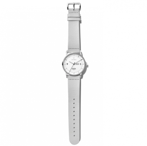 Triwa watches - Snow Klinga - Light Grey Silver Buckle - full view