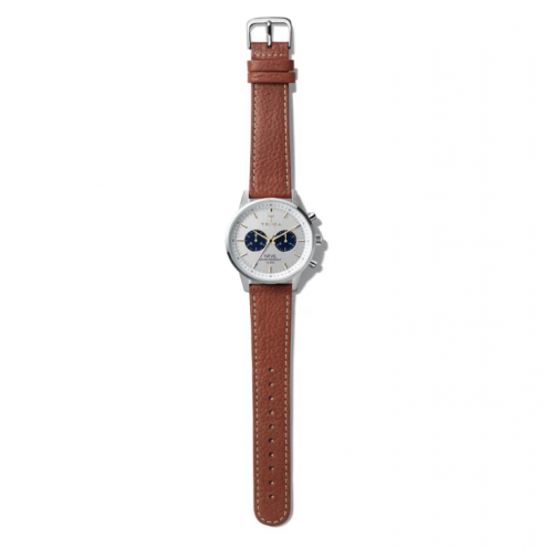 Triwa Watches - Loch Nevil - Brown Tumbled Sewn Classic 2 - full view