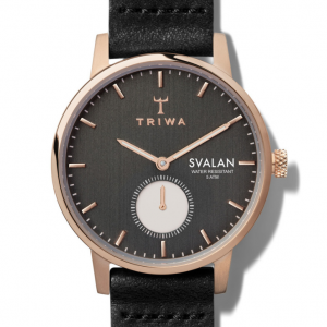 Triwa Watches - Noir Svalan - Black Classic Super Slim - detail