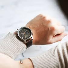 Triwa Watches - Smoky Nevil - Dark Brown Classic - arm view