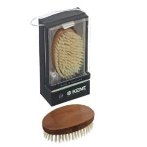 Kent MC4 White Bristle Hair Brush - in box