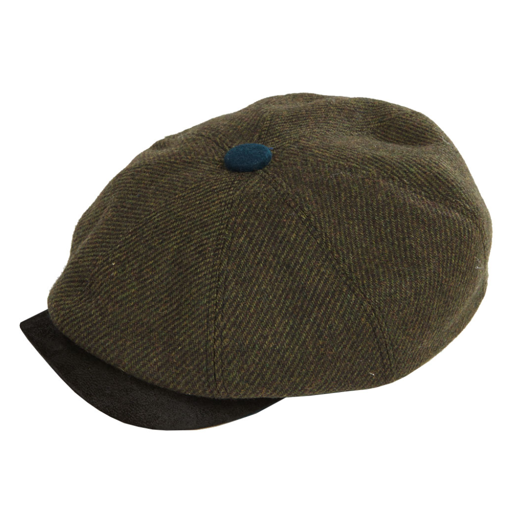 Dasmarca Charlie flat cap in Olive