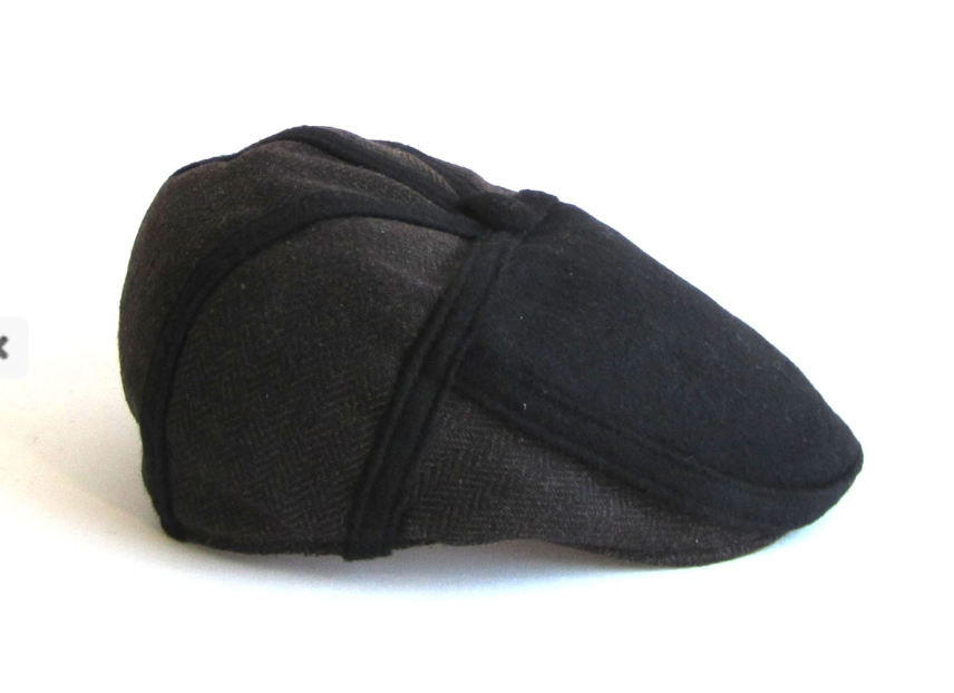 Dasmarca Roy wool cap in Russett - side