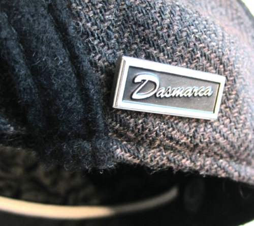 Dasmarca Roy wool cap in Russett - inside