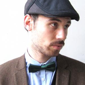 Dasmarca Roy wool cap in Russett - model