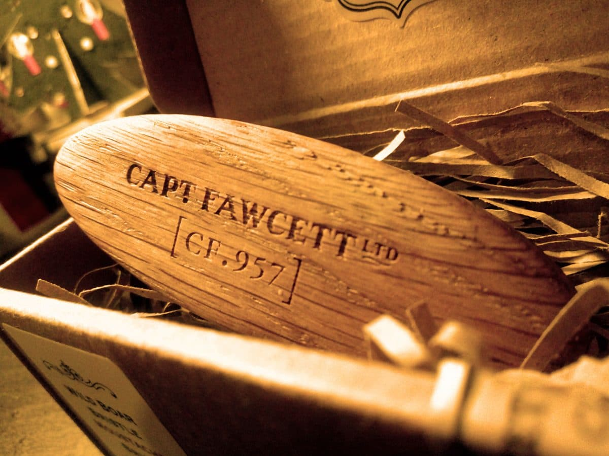 Capt. Fawcett moustache brush